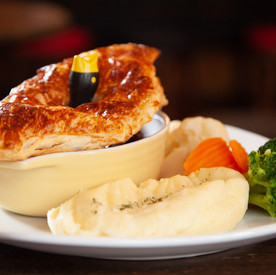 Black Bull Dalkeith, Steak Pie
