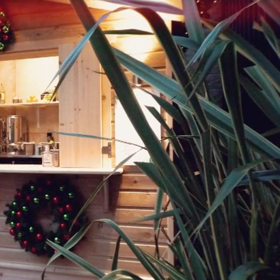 Dome Christmas Chalet
