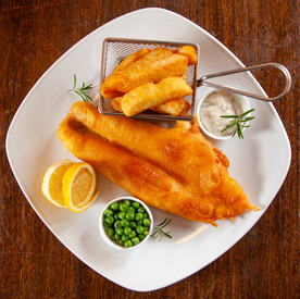 Black Bull Dalkeith, Fish and chips
