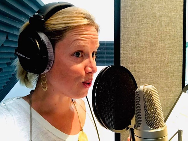 Voice over Annelies verhaeghe