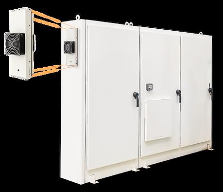 Cooler para armário eléctrico