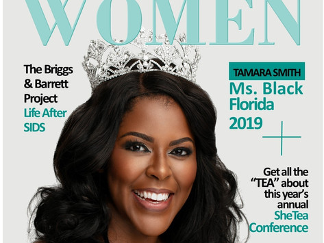 On the Cover of Purpose Driven Women Magazine!