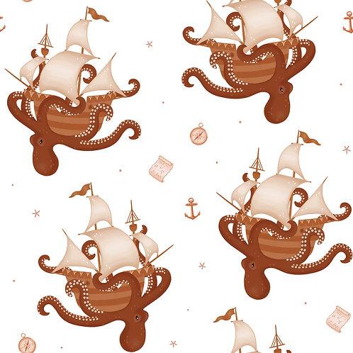 The Kraken Comfort Blanket