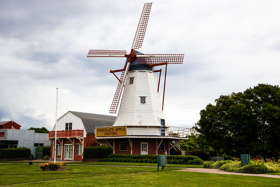Chocolate Apple Factory Windmill