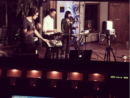 Phantogram performs live in Studio D for KCRW Morning Becomes Eclectic
