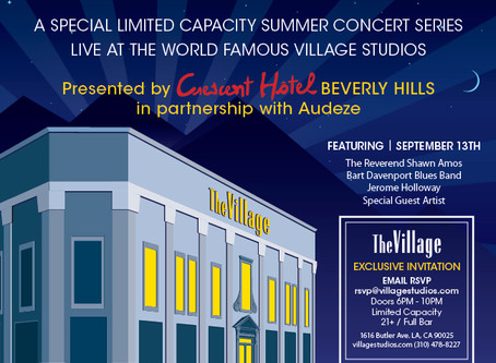 Celebrate Summer at the Twilight Sessions Presented by Cresent Hotel Beverly Hills Live at The Villa