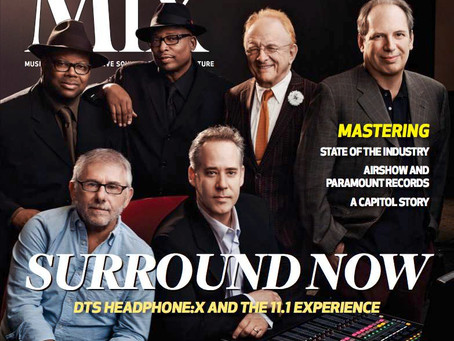 Peter Asher and Nathan Kunkel On The Cover – Mix Magazine