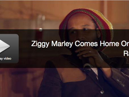 Exclusive Ziggy Marley interview and performance for Grammy Up Close
