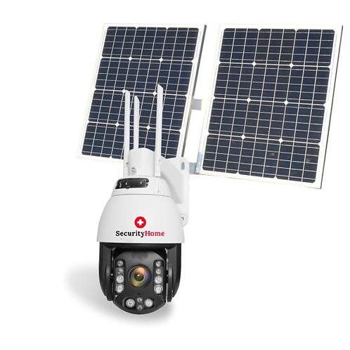 360° 5MP High End Speed WiFi HD Outdoor Überwachungskamera mit Solar Panel