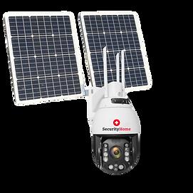 360 Aussenkamera mit Solarpanel transpar