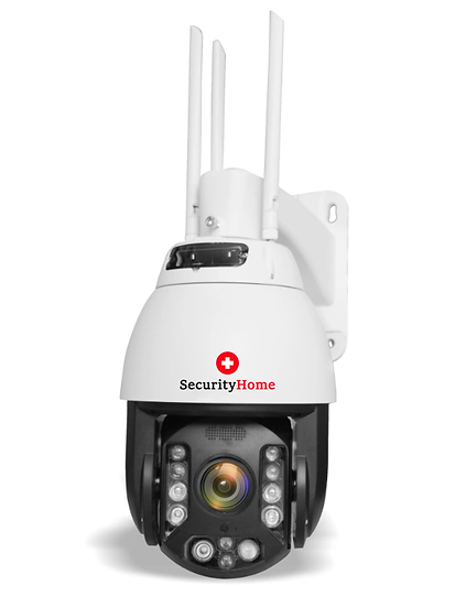 360° 5MP High End Speed WiFi & IP NVR HD  Überwachungskamera