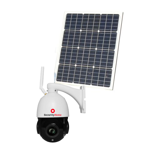 360° 2MP High End Speed WiFi HD Outdoor Überwachungskamera mit Solar Panel