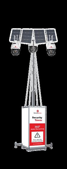360° SecurityTower + Einrichtung + Schulung + Lieferung