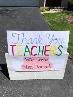 Teacher Appreciation Events