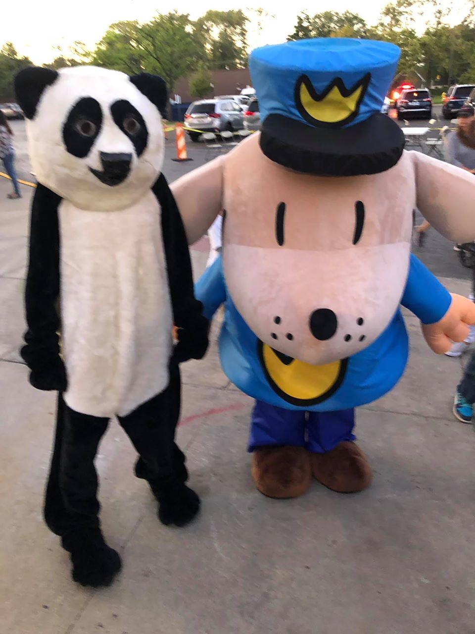 Book Fair Mascots