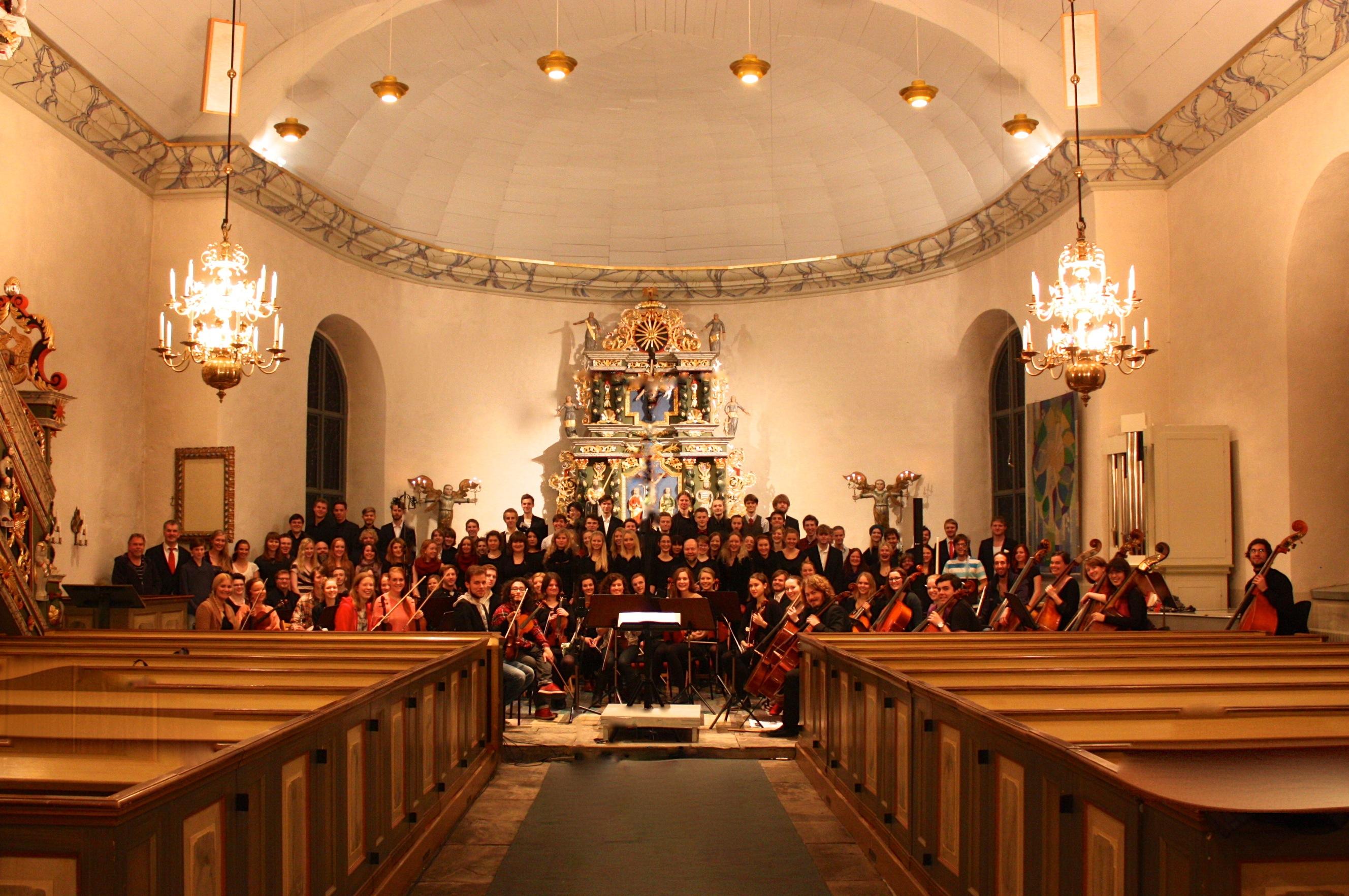 150 Ungdomar möter Bach & Händel
