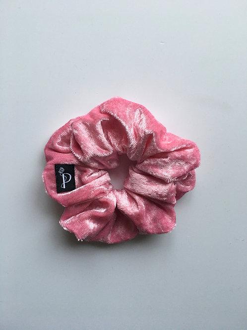 Chouchou Classique Velours Rose