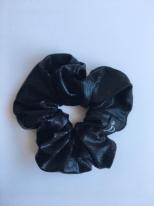 Chouchou Classique Noir Métallisé