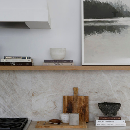 The Best Natural Stone Slabs for an Organic, Earthy Kitchen