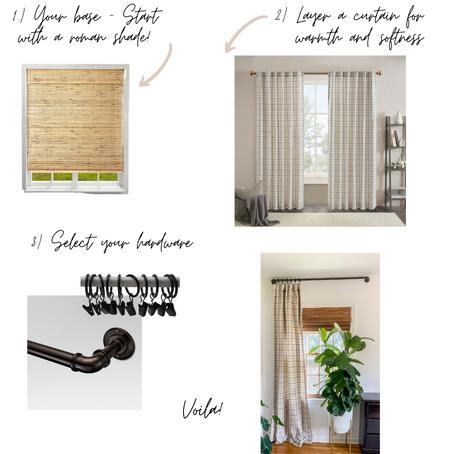 A Simple Formula for Beautiful Window Treatments