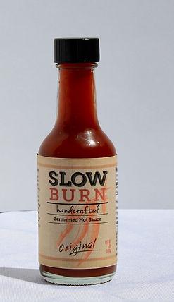 2.5 oz slow burn hot sauce