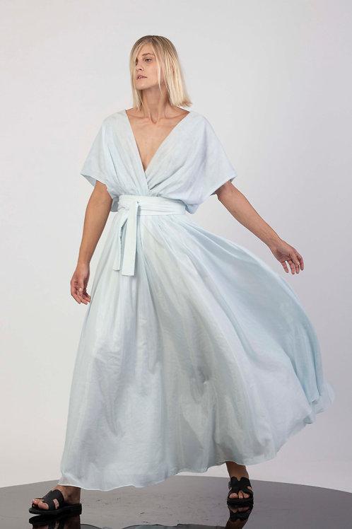 Maxi drop shoulder dress