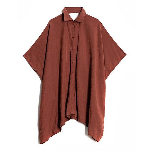 Box shape oversize shirt