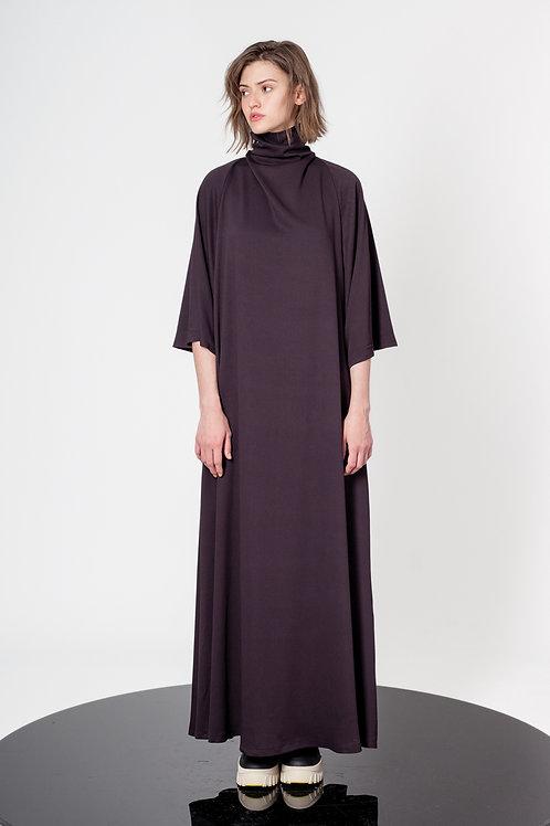 Raglan maxi dress