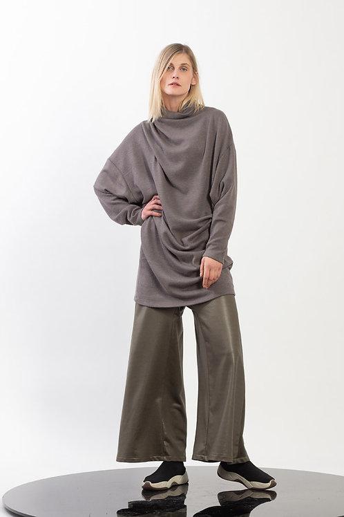 Dolman Sleeve Midi Dress