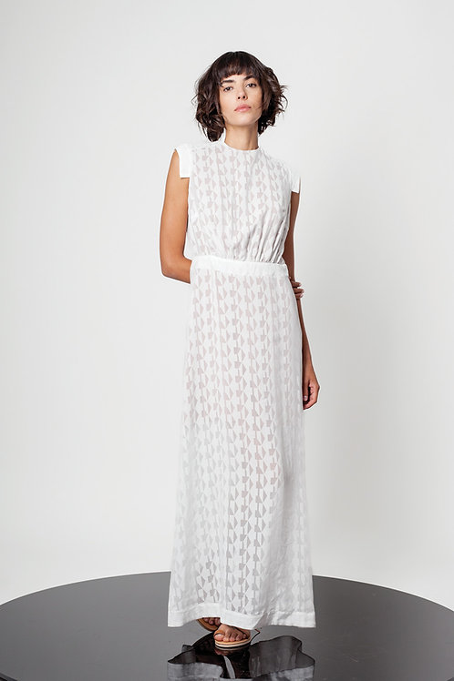 Devore long dress