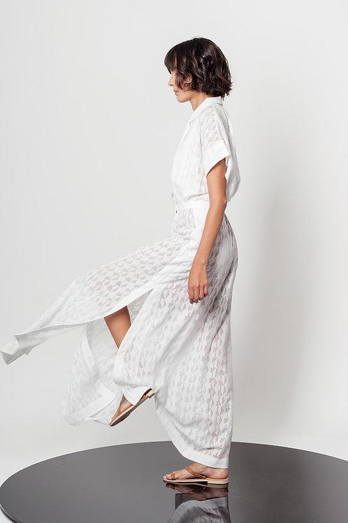 Devore Long open side dress