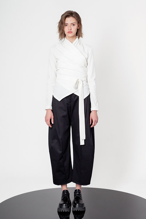 Balloon shape pants
