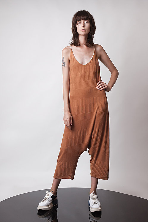 Knitted harem jumpsuit