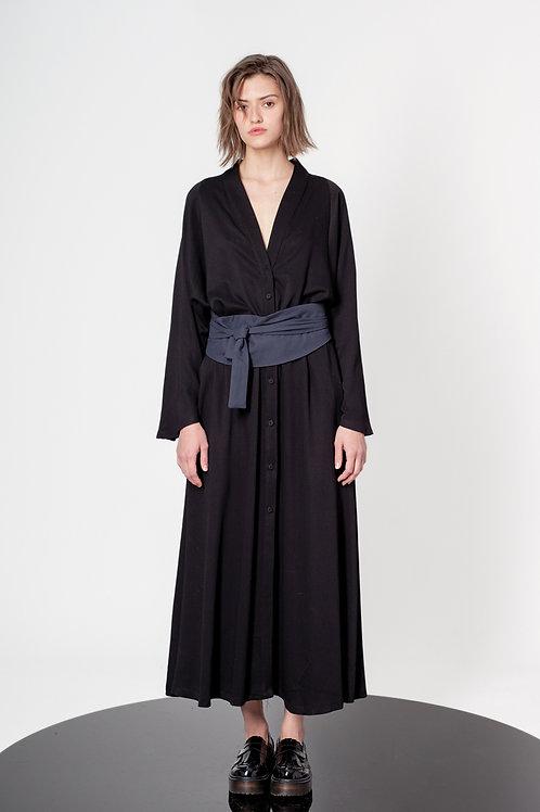 Maxi chemisier dress
