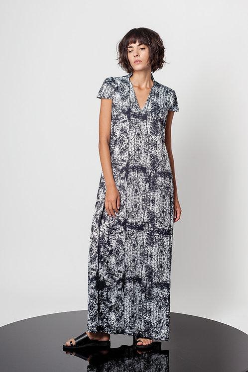 Invisible pleats dress