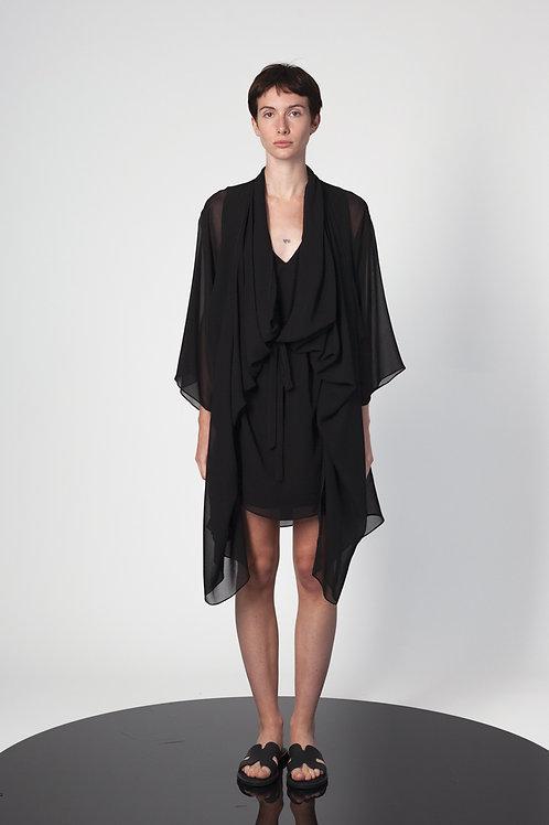 Panelled mini dress