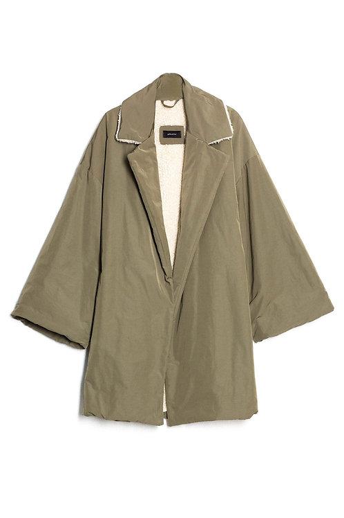 Box shape puffer coat