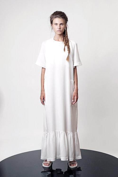 Maxi box sleeve dress