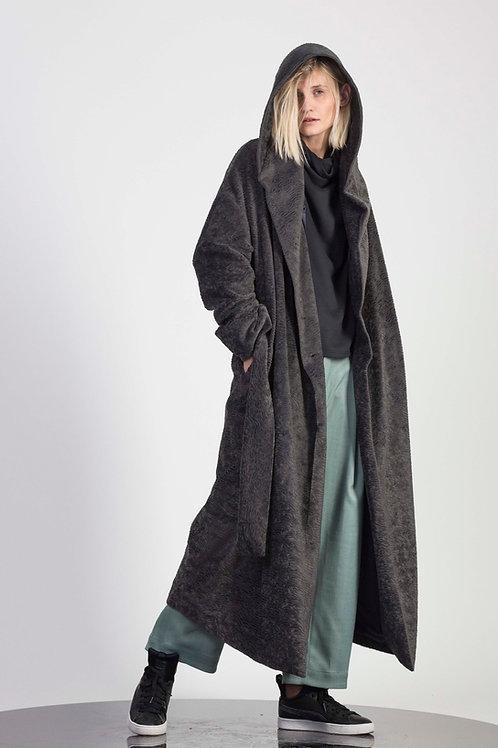 Long Winter coat with hood
