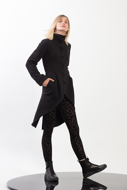 Fitted Jersey Tailcoat