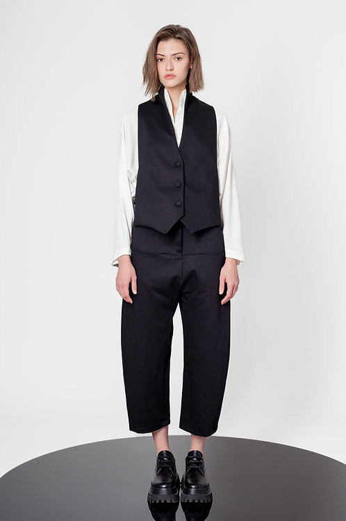 Swan neck waistcoat