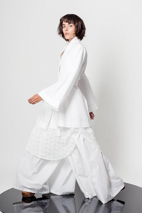 Bell shape kimono