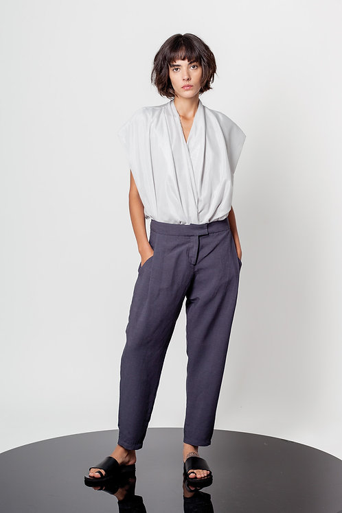 Dressy pleated pants