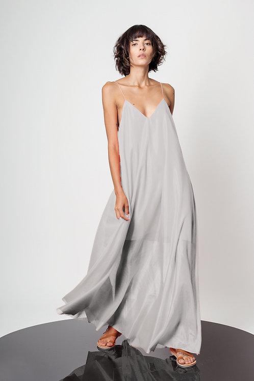 String maxi dress