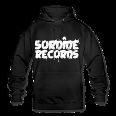 Sweat à capuche Sordide Records trash
