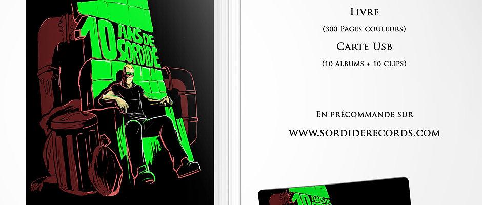 10 ans de Sordide (édition collector)