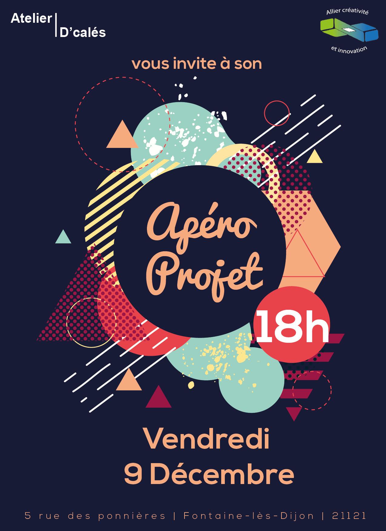Affiche Apéro projet