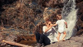 Wandern mit Kindern: Schleierwasserfall in Hart im Zillertal
