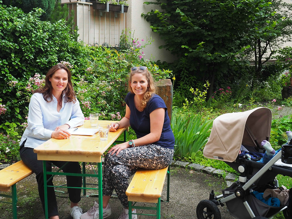 Corinna Esser Interview Eltern werden -  Paar bleiben