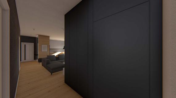 salon + korytarz